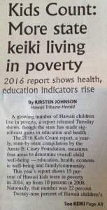 """Keiki' is Hawiaiian for ""kids."""
